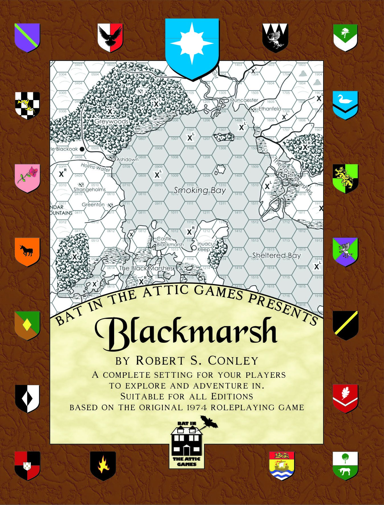 cover of blackmarsh
